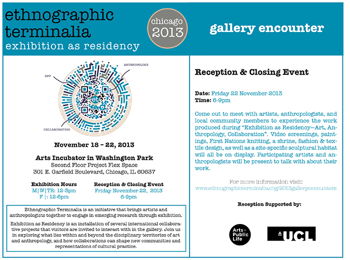 Reception and Closing Event (Ethnographic Terminalia 2013) Web