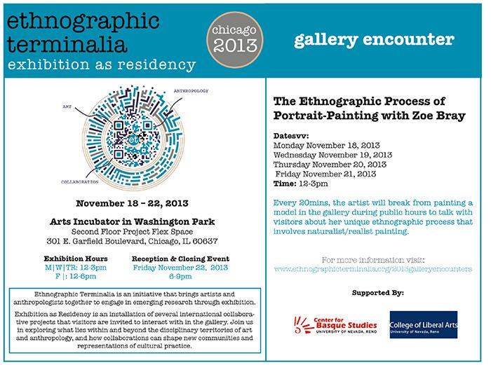 Zoe Bray Portrait Painting (Ethnographic Terminalia 2013) Web