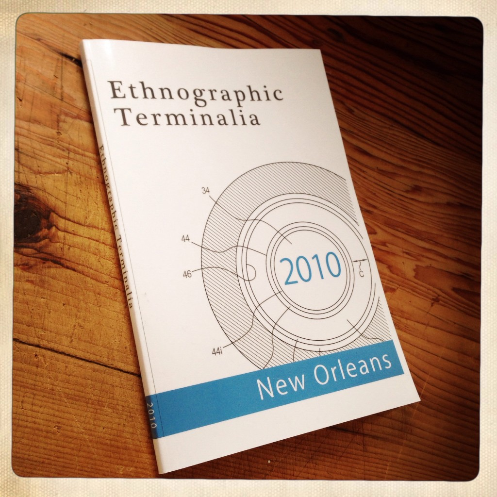 Ethnographic Terminalia Catalogues Forthcoming in 2014